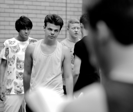 National Youth Music Theatre - West Side Story rehearsals - credit Matt Hargraves