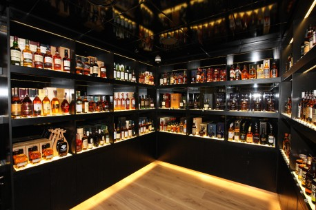 The Whisky Shop Manchester Interior