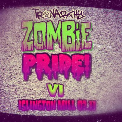 zombie pride islington mill