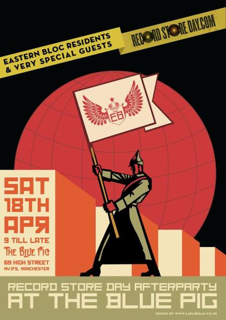 Record Store Day 2015 Eastern Bloc