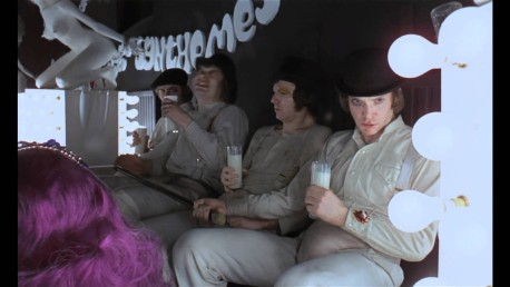 Clockwork Orange Milk Bar