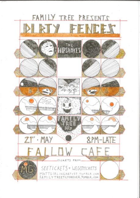 Dirty Fences Fallow Cafe