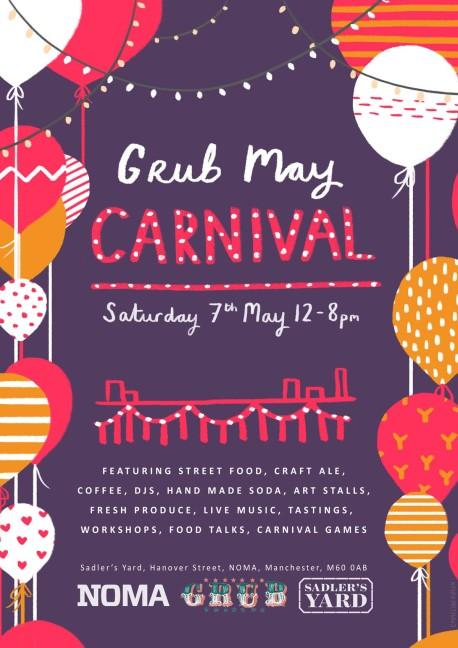 grub may carnival