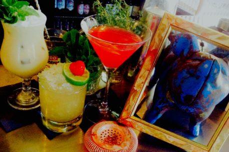 Blue Pig cocktails