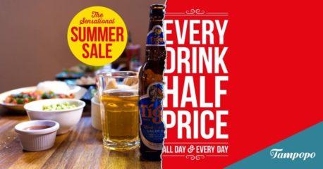 Tampopo summer drinks sale