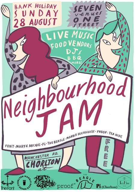 Neighbourhood Jam Chorlton