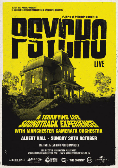 PSYCHO by Manchester Camerata at Albert Hall