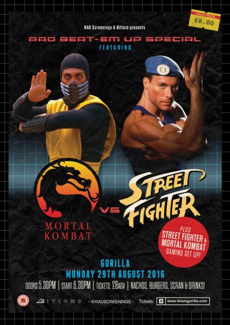 STREET FIGHTER Mortal Kombat Films Gorilla