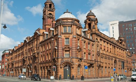 London Road fire station in Manchester.