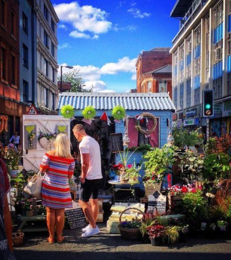 Northern Quarter Makers Market October 2016