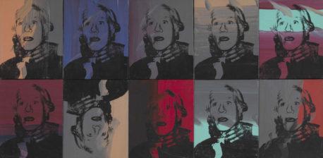 Andy Warhol, Self-Portrait Strangulation, 1978