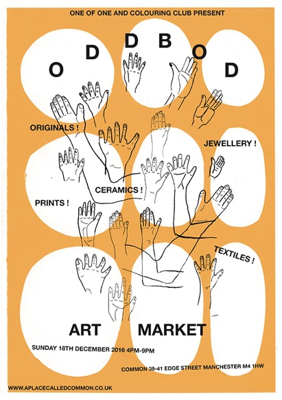 Odd Bod art market at Common