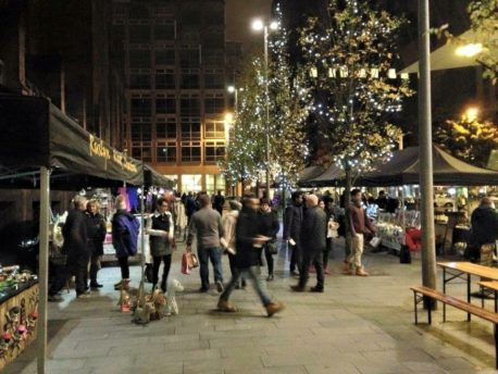 Spinningfields Christmas Makers Market 2016