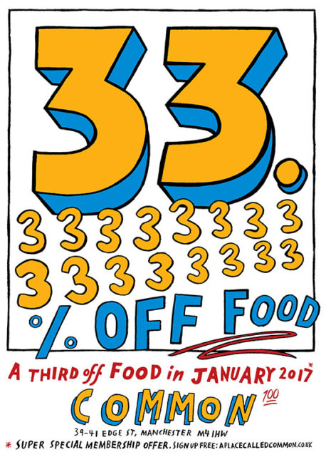 Common January food offer 2017