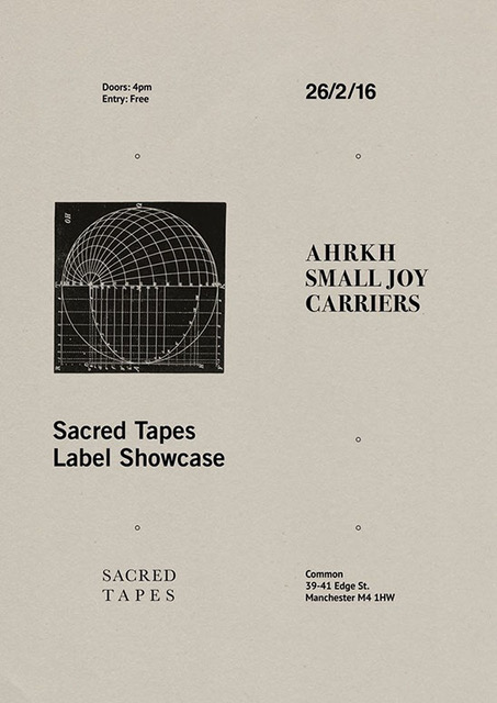 Sacred Tapes Common gig Manchester