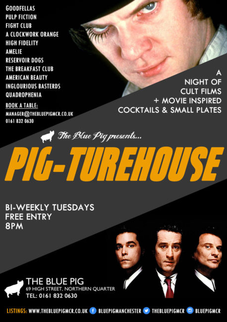 PIGTUREHOUSE FILM NIGHT POSTER A3