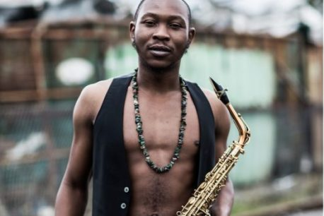 Seun Kuti Band on the Wall afrobeat