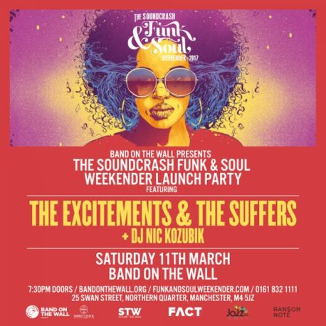 The Excitements Band on the Wall Manchester