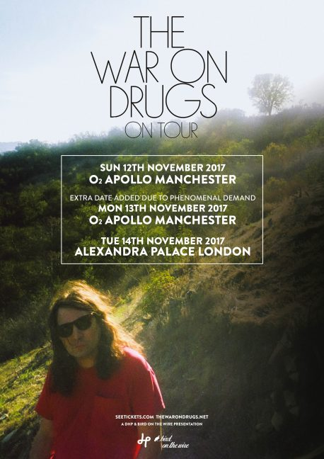 War on Drugs 2017 Manchester