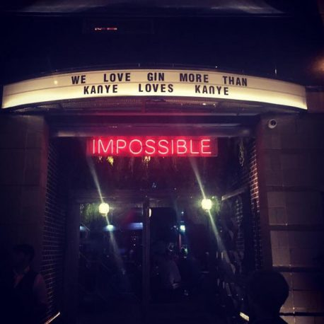impossible bar and restaurant