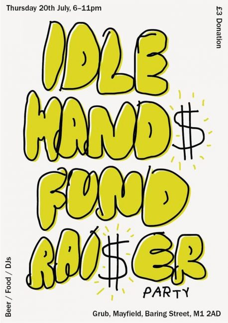 idle hands fundraiser
