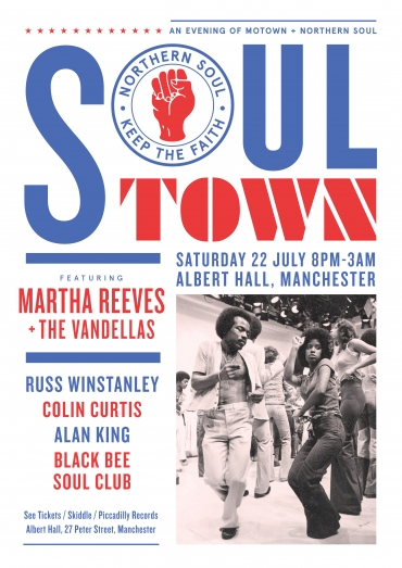 Martha Reeves Soul Town Albert Hall