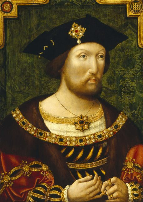 King Henry VIII. Image courtesy of The John Rylands Library.