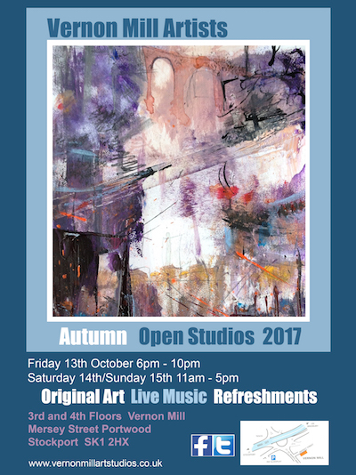 Vernon Mill Free Open Studio