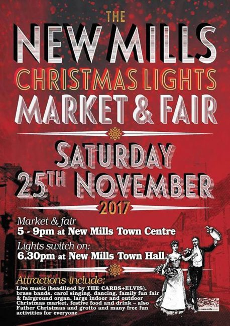 new mills xmas lights switch on