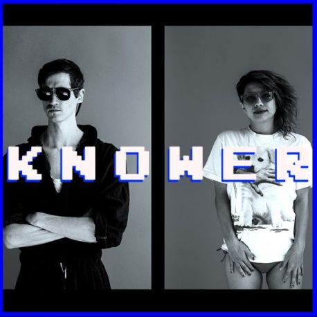 KNOWER band on the wall