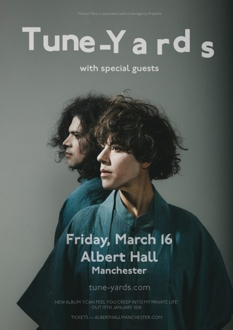 Tune Yards Web Poster 2018
