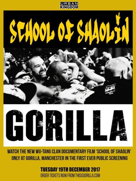 Wu Tang film School of Shaolin