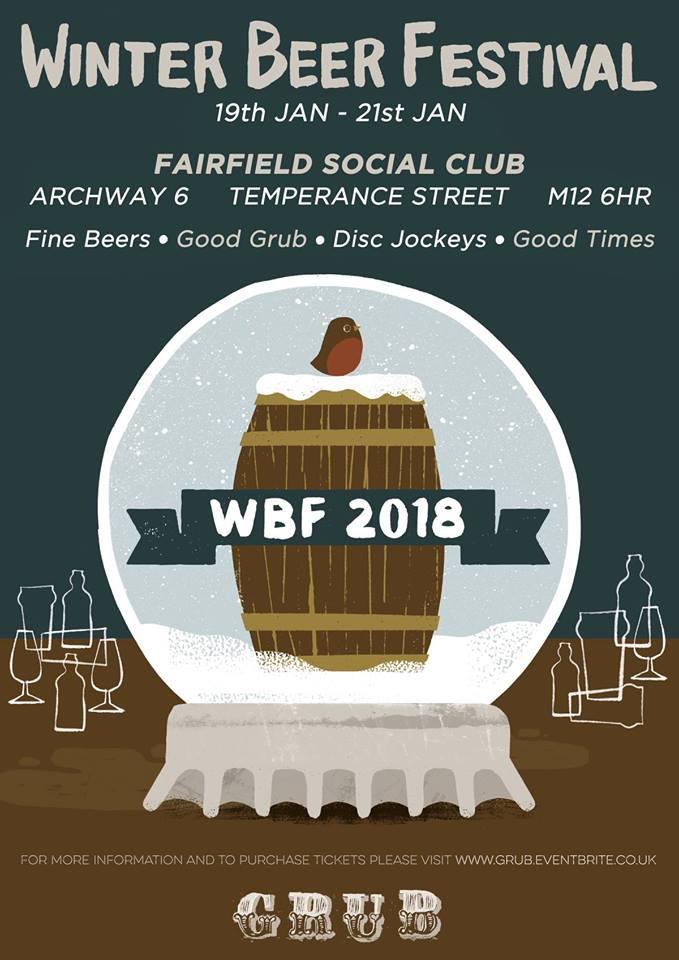 book ticket winter beer festival 2018 at grub fairfield. Black Bedroom Furniture Sets. Home Design Ideas