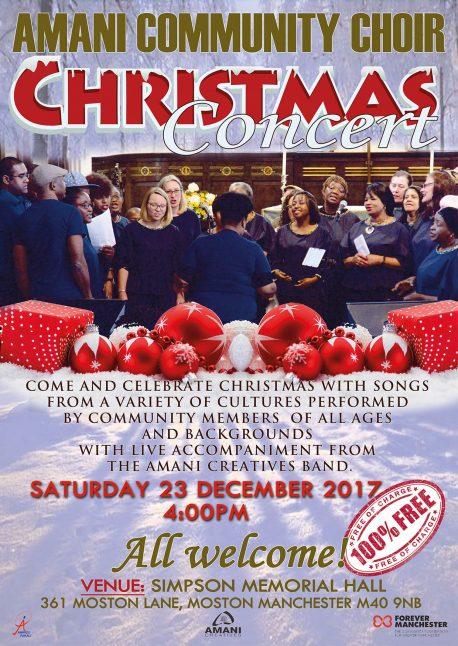 Amani choir poster