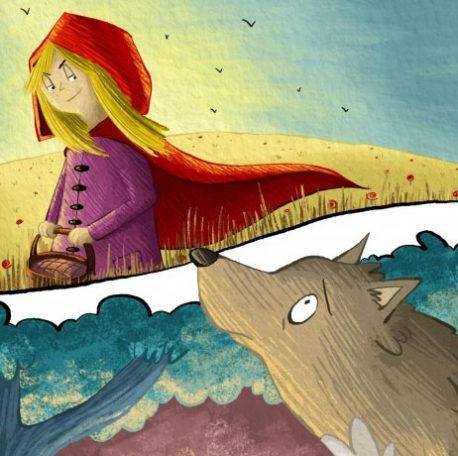 Red Riding Hood and the Wolf Home
