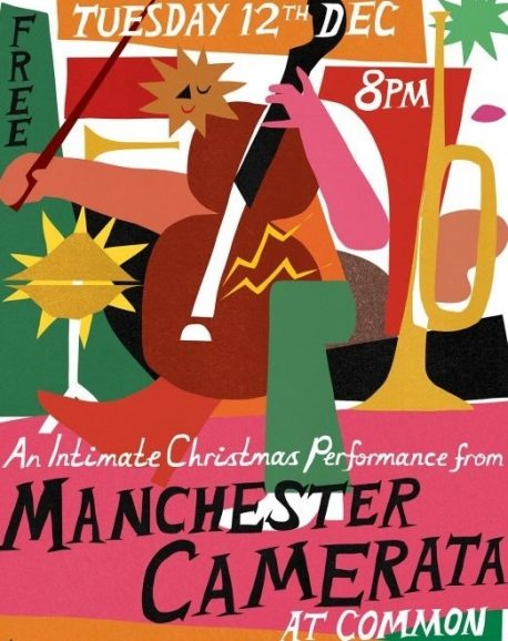Manchester Camerata Common bar poster