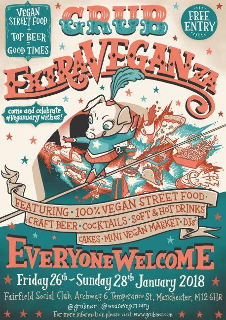 Grub vegan Extraveganza