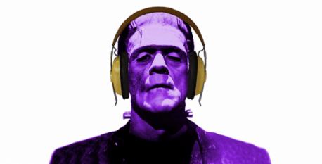 immersive Frankenstein experienceHeadphones