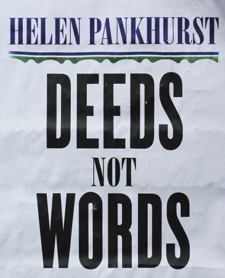 Helen Pankhurst - Deeds Not Words