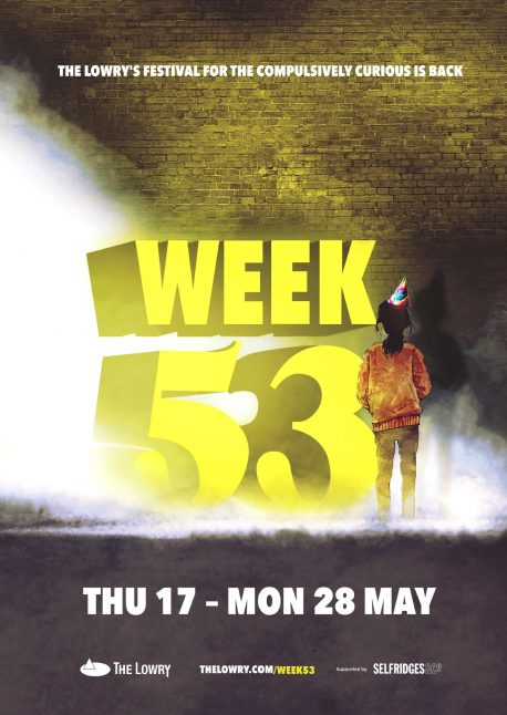 Week 53 festival at The Lowry.