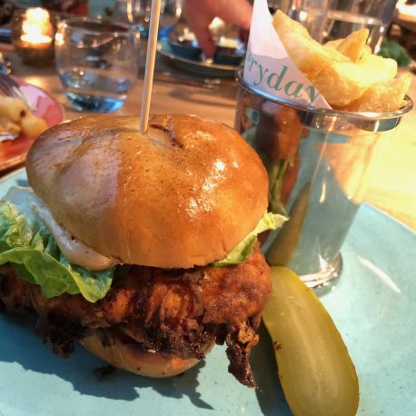 the anthologist manchester wagyu burger