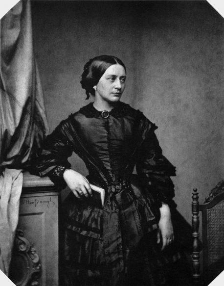 Composer Clara Schumann.