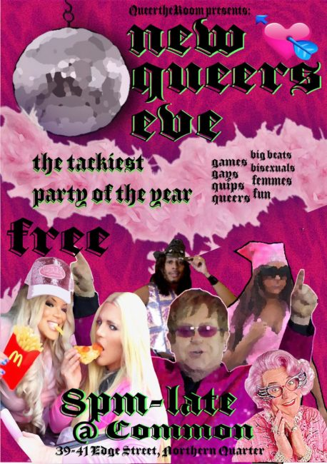 Free Things to do in Manchester - New Queers Eve