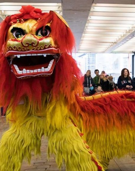 Free things to do in Manchester - Lion Dance