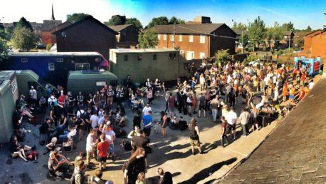 big-western-yard-party